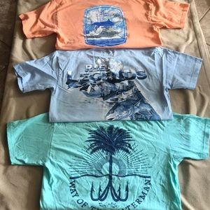 Lot of 3 men's size small t-shirts.
